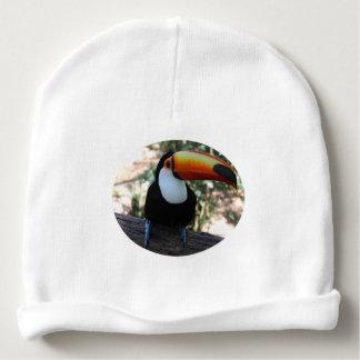 Toucanのカスタムなベビーの綿の帽子 ベビービーニー