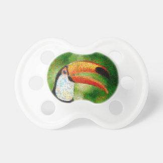 Toucanのコラージュtoucanの芸術-コラージュの芸術 おしゃぶり