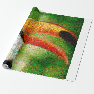 Toucanのコラージュtoucanの芸術-コラージュの芸術 ラッピングペーパー
