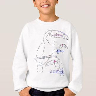 Toucanのスケッチ スウェットシャツ