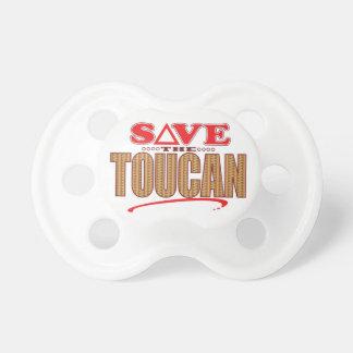 Toucanの保存 おしゃぶり