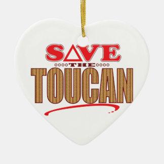 Toucanの保存 セラミックオーナメント