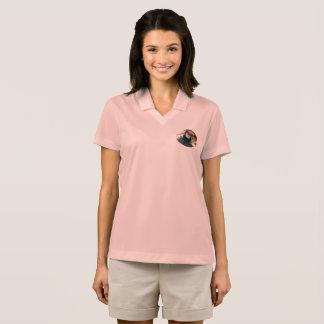 Toucanの女性のナイキDri適合の悪感情のポロシャツ ポロシャツ