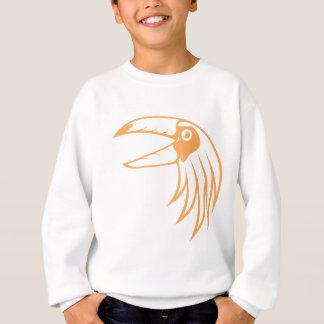 Toucanの幸せな鳥 スウェットシャツ