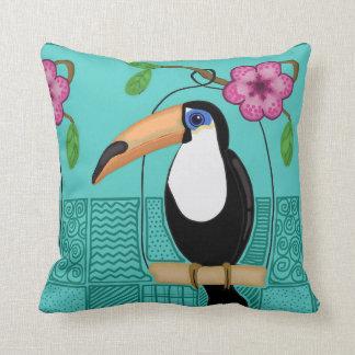 Toucanの枕 クッション