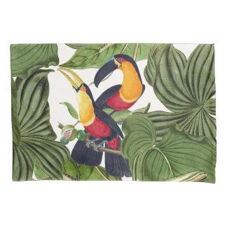 Toucanの鳥の野性生物動物のジャングルの枕カバー 枕カバー