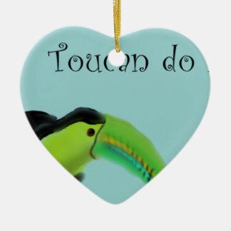 Toucanはそれをします セラミックオーナメント