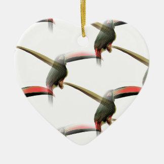 Toucanパターン セラミックオーナメント