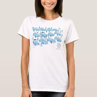 Tour de Arita イラストTシャツ for ladies Tシャツ