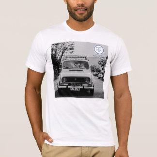 Tour de Arita イラストTシャツ RENAULT 4 Tシャツ