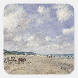 Tourgeville 1893年のビーチ スクエアシール
