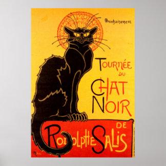 Tournee du Chat Noir猫ポスター ポスター
