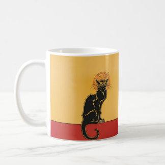 Tourneee du Chat Noirのヴィンテージの芸術のコーヒー・マグ コーヒーマグカップ
