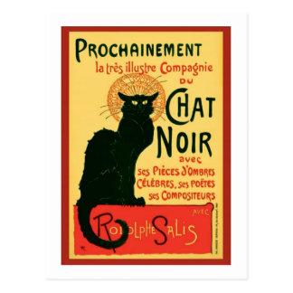 Tourneee du Chat Noir、Theophile Steinlen ポストカード