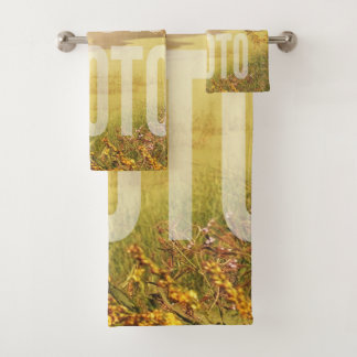 Towel Set Full Fill Template バスタオルセット