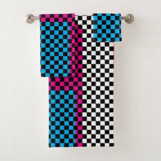 Towel Set Size Helper Template バスタオルセット