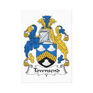 Townsendの家紋 キャンバスプリント