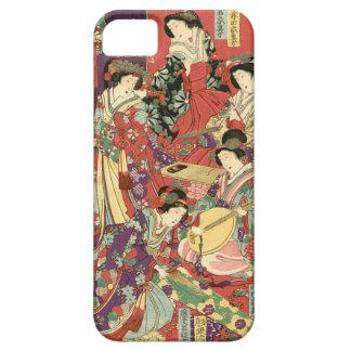 Toyohara Chikanobu著気高い女性のリスト iPhone SE/5/5s ケース