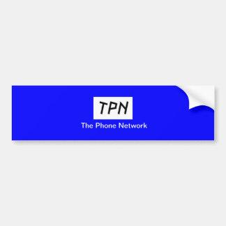 TPNのバンパーステッカー バンパーステッカー