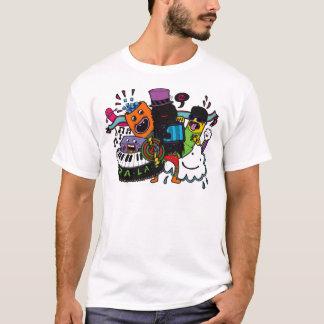 TraのLaのLa Tシャツ