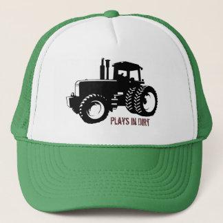 TractorSilbk、土の演劇 キャップ