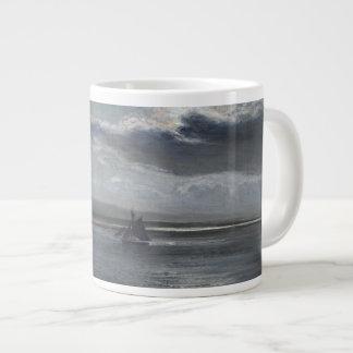 Traeth Mawrの月光 ジャンボコーヒーマグカップ