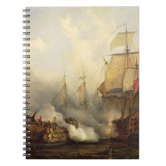 Trafalgar、1805年10月21日のRedoutable ノートブック