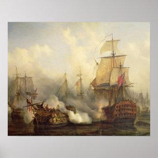 Trafalgar、1805年10月21日のRedoutable ポスター