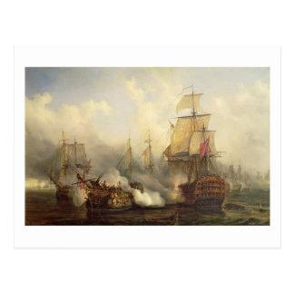 Trafalgar、1805年10月21日のRedoutable ポストカード