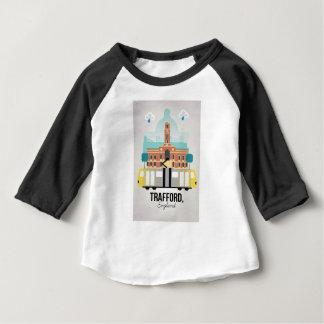 TRAFFORD、マンチェスター ベビーTシャツ