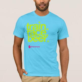 TRAIN.RACE.BEER. オウムのTシャツ Tシャツ