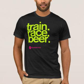TRAIN.RACE.BEER. Tシャツ