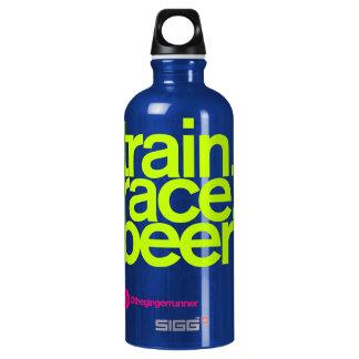 TRAIN.RACE.BEER. Waterbottle ウォーターボトル