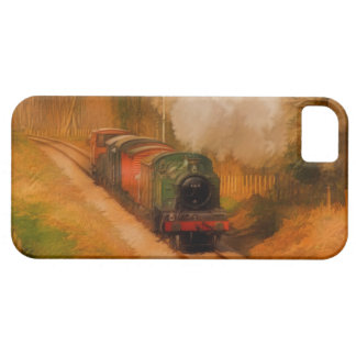 Trainspottersの芸術のための鉄道の蒸気の列車 Case-Mate iPhone 5 ケース