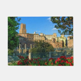 Trajanのフォーラム、Traiani、ローマ、イタリア ドアマット