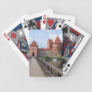 Trakaiの島の城-リスアニア --- バイスクルトランプ