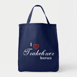 Trakehnerの馬 トートバッグ