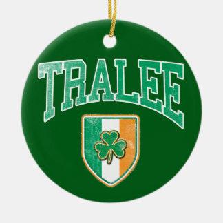 TRALEEアイルランド セラミックオーナメント