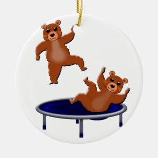 trampoliningくま セラミックオーナメント