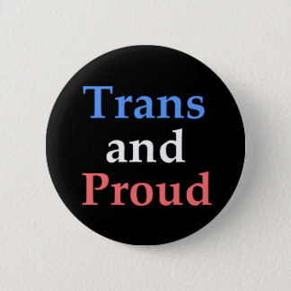 TRANSおよび誇りを持った-ゲイプライド 缶バッジ