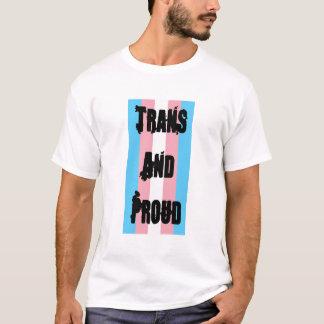 TRANSおよび誇りを持った Tシャツ