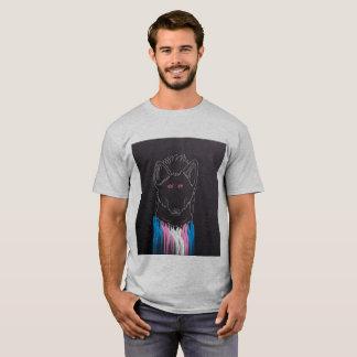 TRANSの男らしいハイエナのワイシャツ Tシャツ