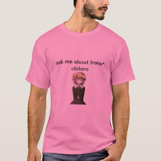 trans*chihiro tシャツ