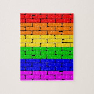 Transexualの虹の壁 ジグソーパズル