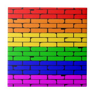 Transexualの虹の壁 タイル