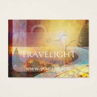 Travelightの旅行会社の名刺 チャビ―名刺