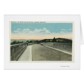 Traver空橋道路の眺め カード