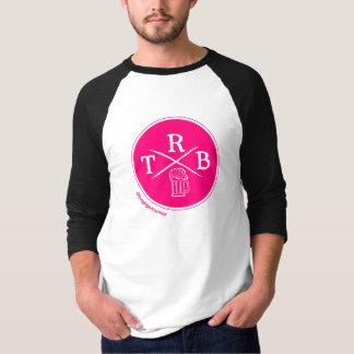 TRBのロゴ3/4の長さのワイシャツ Tシャツ