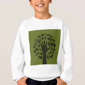 tree3を渡して下さい スウェットシャツ