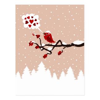 tree9の鳥 ポストカード